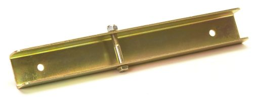 Boat Trailer - Side Chock Channel: 12""