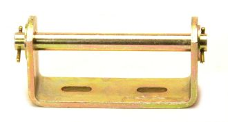 "Boat Trailer - Keel Bracket: 5"" - Bore 16mm"