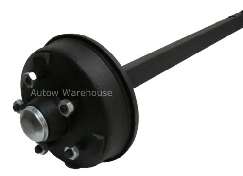 Trailer Axle - Solid Beam 160x35 Braked: 750-900kg