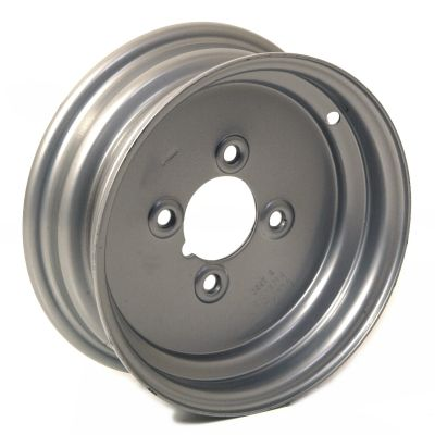 "Trailer Wheel Rim: 3.5x10 4x4"" pcd Centre Nave"