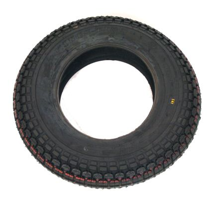 Trailer Tyre: 350x8 4ply
