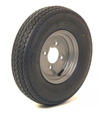 "Trailer Wheel: 400x8 4ply 4x4"" pcd"