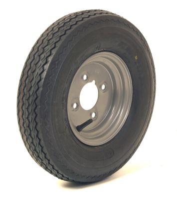 "Trailer Wheel: 400x8 6ply 4x4"" pcd"