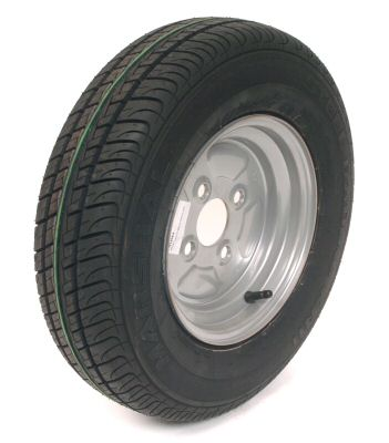 Trailer Wheel: 145x10 4ply 4x100mm pcd