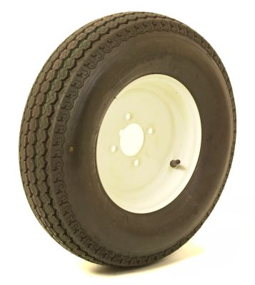 "Trailer Wheel: 500x10 8ply 4x4"" pcd"