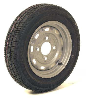 Trailer Wheel: 145x13 4ply 4x130mm pcd