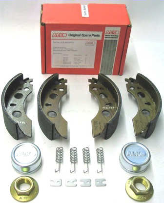Trailer Brake Shoe Service Kit - AL-KO: 230x61 A/R