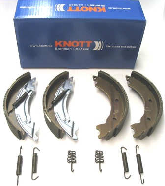 Trailer Brake Shoe - Axle Pack - Knott: 203x40 A/R