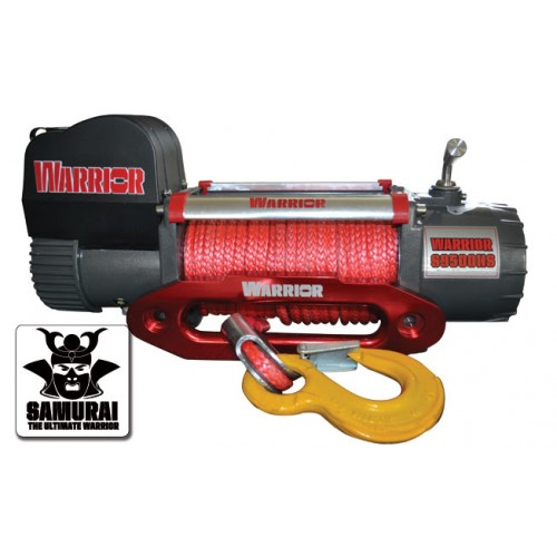 WARRIOR SAMURAI S9500 HS SYNTHETIC12 VOLT WINCH
