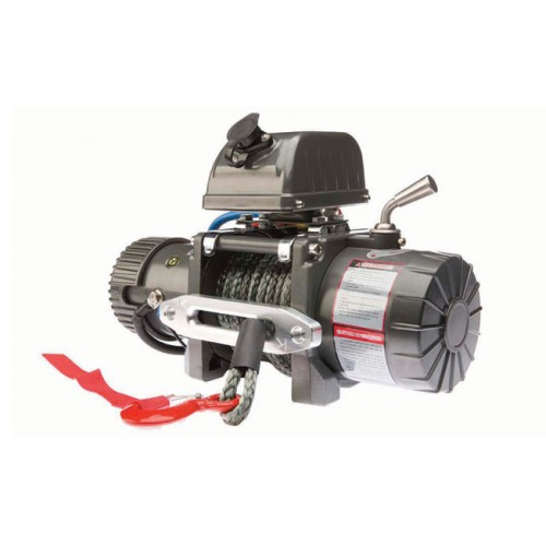 WARRIOR 9500SD 12 VOLT SHORT DRUM WINCH SYNTHETIC