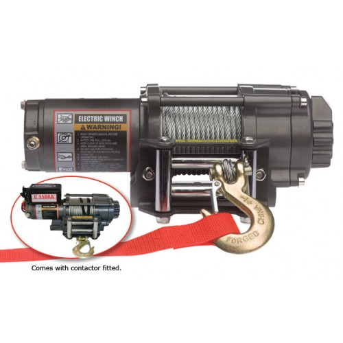 WARRIOR C3500A 24 VOLT WINCH