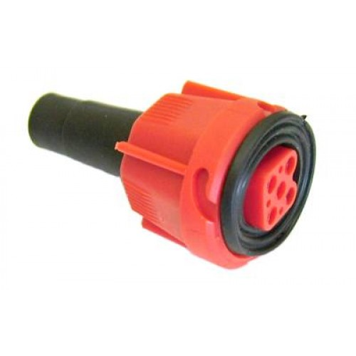 TE 2317 Radex Quick Fit Plug Red