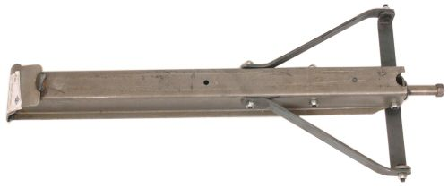 "Trailer Corner Jack: 18"" Plain Steel"