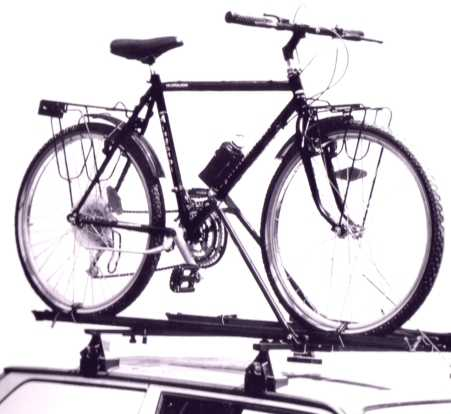 Cycle Carrier - Roof Bar - Fabbri: Bici Sprint - 1 bike
