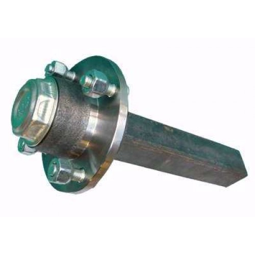 HB 3006 Unbraked Hub and Stub 100mm