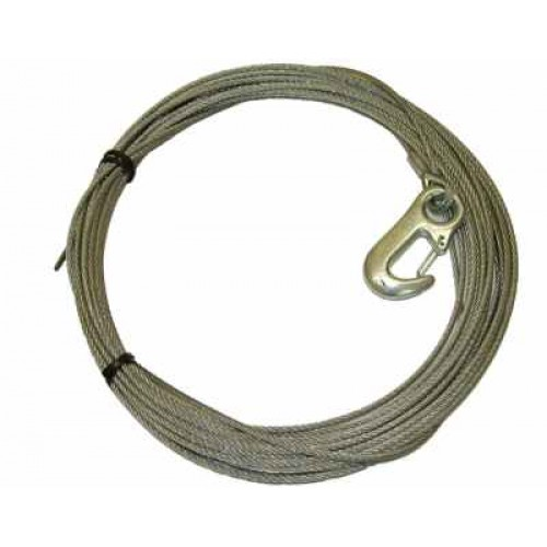 TW 4000 Winch Cable 4 mm x 15M