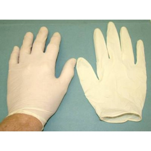 WS 2100 Latex Gloves - Medium