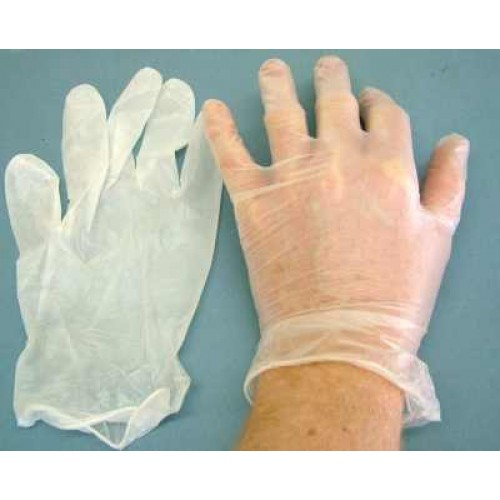 WS 2111 Vinyl Gloves - Large