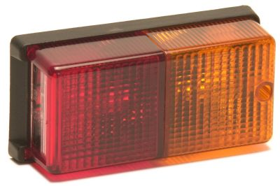 Trailer Light - Budget Lamp: CRL52 - Rectangular