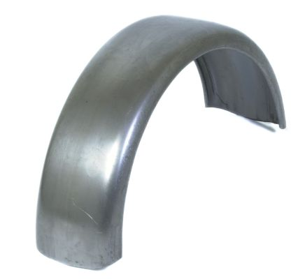 "Trailer Mudguard - Steel: 8"" - 5"" x 19"""