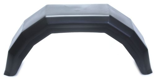 "Trailer Mudguard - Plastic: 10"" - 185 x 600mm"